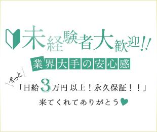 未経験大歓迎ずっと日給3万円以上!